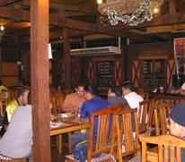 inside consuelo steakhouse